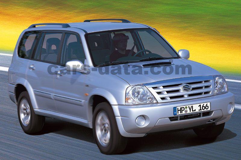Suzuki Grand Vitara Xl 7 2 0 Tdi 16v Manual 5 Door Specs