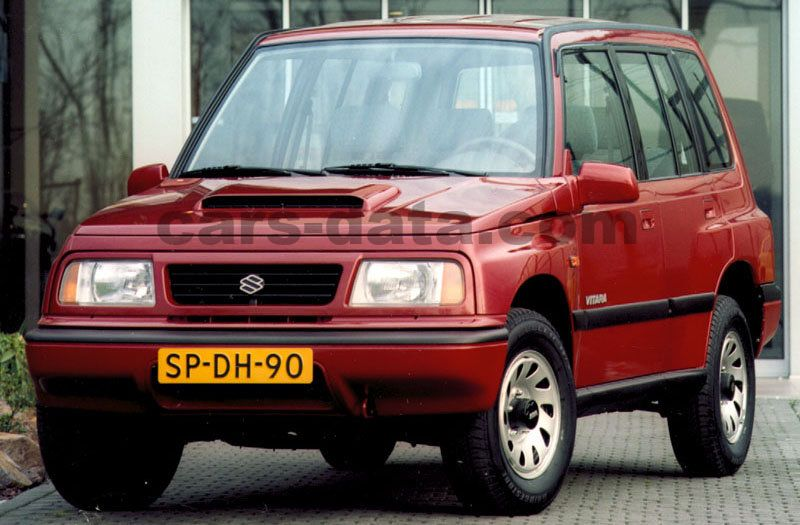 Suzuki Vitara Wagon Pictures