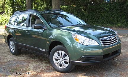 Subaru Outback Financial Details