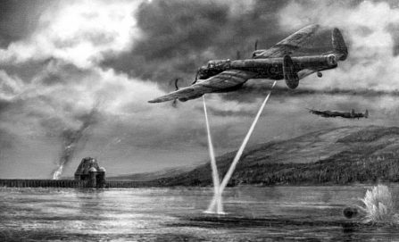 follow the bouncing bomb - Dambusters 1 447x271 - Follow The Bouncing Bomb