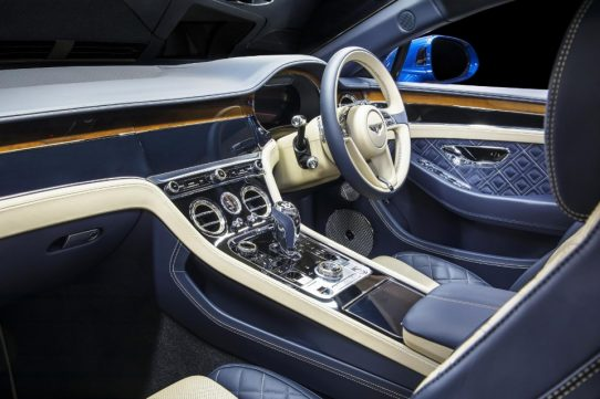 bentley goes into bat with new gt - Continental GT 5 542x361 - Bentley goes into bat with new GT