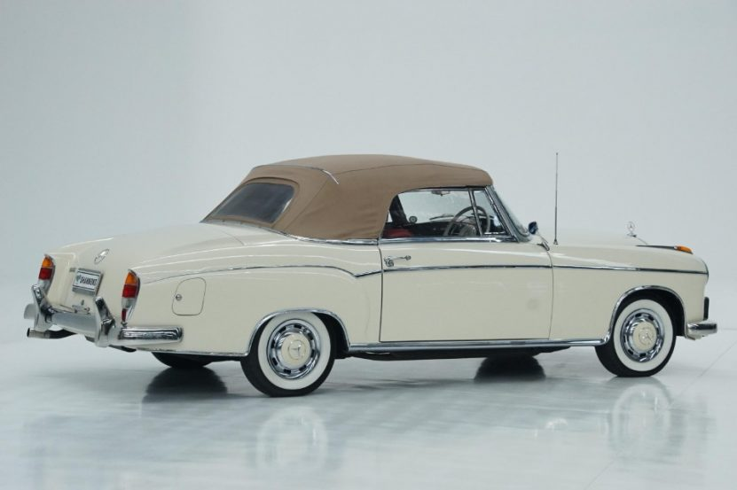 - 1960 mercedes benz 220se ponton cabriolet 5 831x553 - Big bucks for elegant Benz