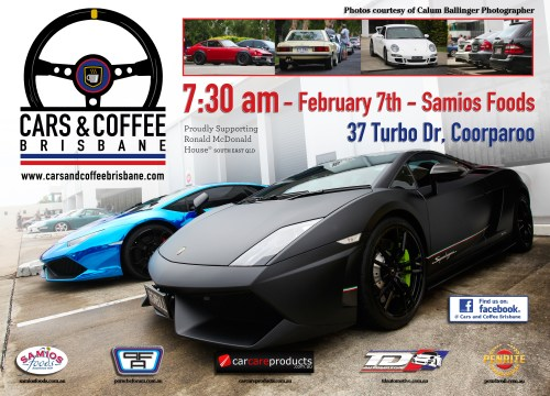 Cars & Coffee Brisbane - Feb 7th