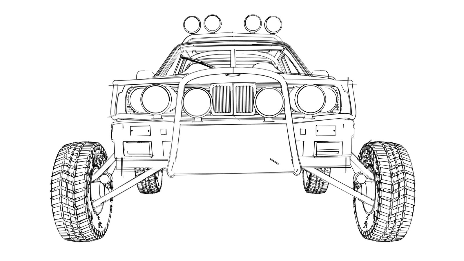 Bill Caswell To Convert E30 Bmw Into Baja Racer During