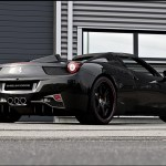 Black Widow Treatment For Ferrari 458 Italia Spider Carscoops