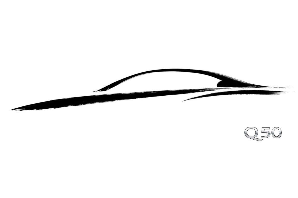 Official New Q50 Will Be The First Infiniti Model To