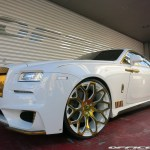 Office K Showers Rolls Royce Wraith In Gold Carscoops