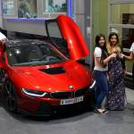 Princess Takes Delivery Of Custom Bmw I8 In Abu Dhabi Carscoops