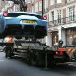 London Police Seizes Allegedly Uninsured Ferrari 458 Speciale Aperta Carscoops