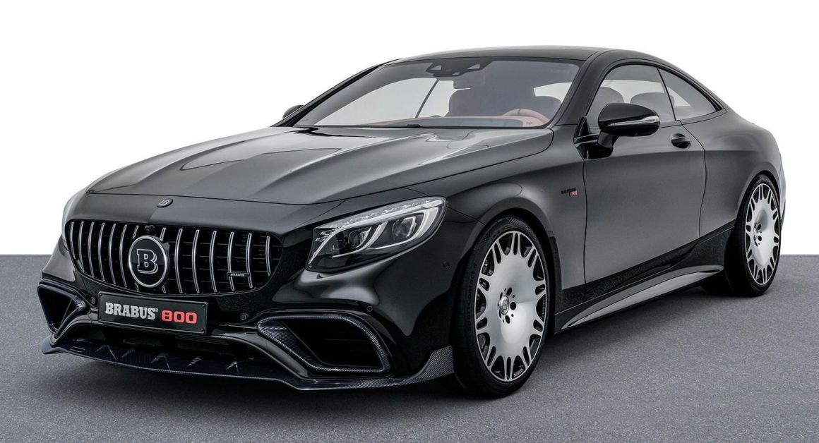 Mercedes S63 Coupe-Based Brabus 800 Costs Just Under $400,000 | Carscoops