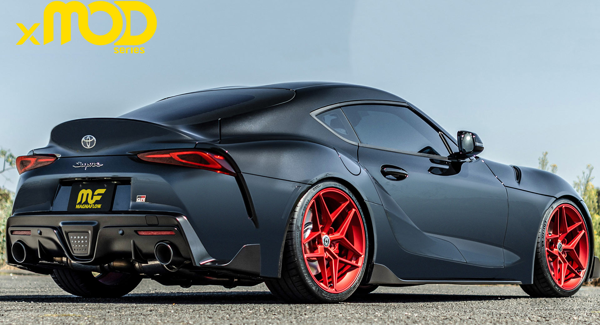 2020 toyota supra gets a booming