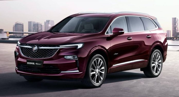 China S 2020 Buick Enclave Avenir Three Row Suv Looks So Much Better Than Ours Carscoops