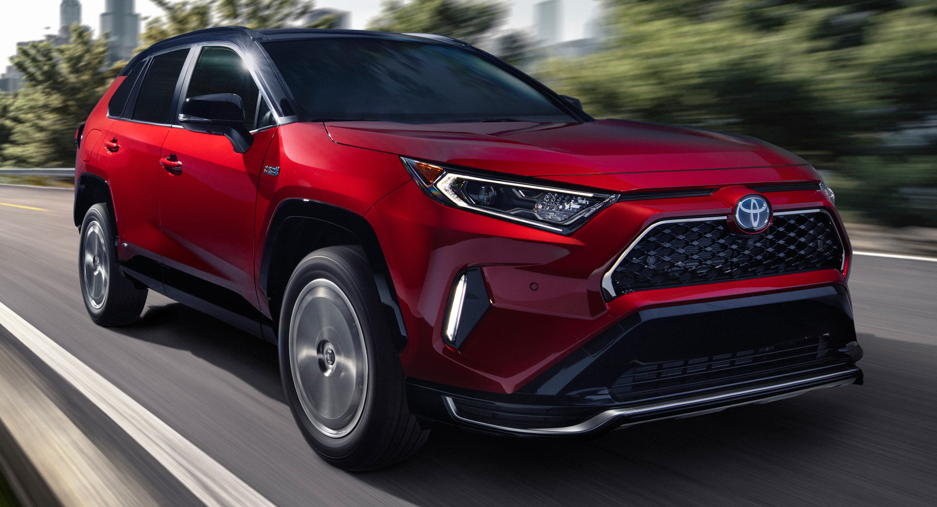 2021 Toyota Rav4 Prime Phev Is Both The Most Powerful And Fuel Efficient Rav4 Ever Carscoops