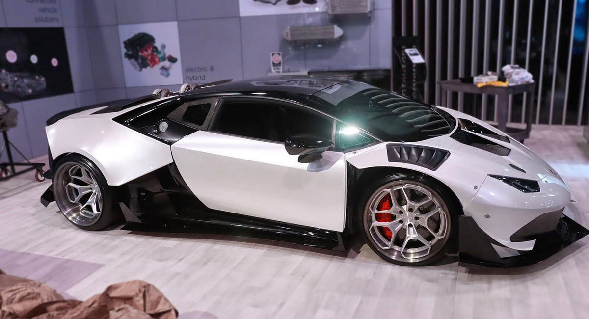These Guys Resurrected A Destroyed Lambo Huracan With A Gm
