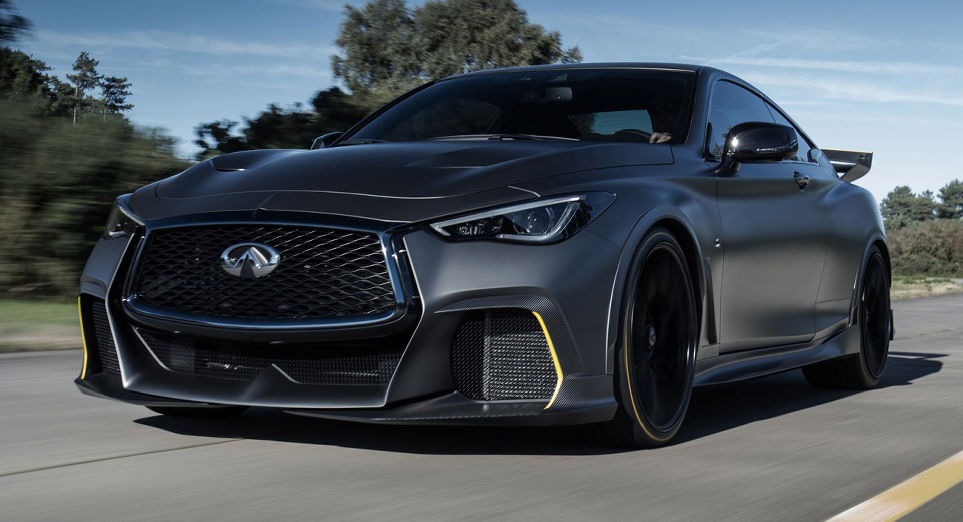 Infiniti Thinks Project Black S Could Be Sold In U.S. In Limited Numbers   Carscoops