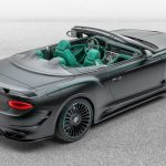 Mansory S Bentley Continental Gt V8 Cabrio Is All About Carbon And Green Leather Carscoops