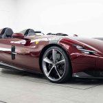 Dark Red Ferrari Monza Sp2 Is Drop Dead Gorgeous Carscoops