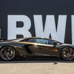 Brown Lamborghini Aventador From Liberty Walk Will Split Opinions Carscoops