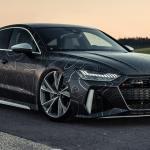 Tuned Audi Rs7 Sports 942hp Black Diamond Matte Wrap Carscoops