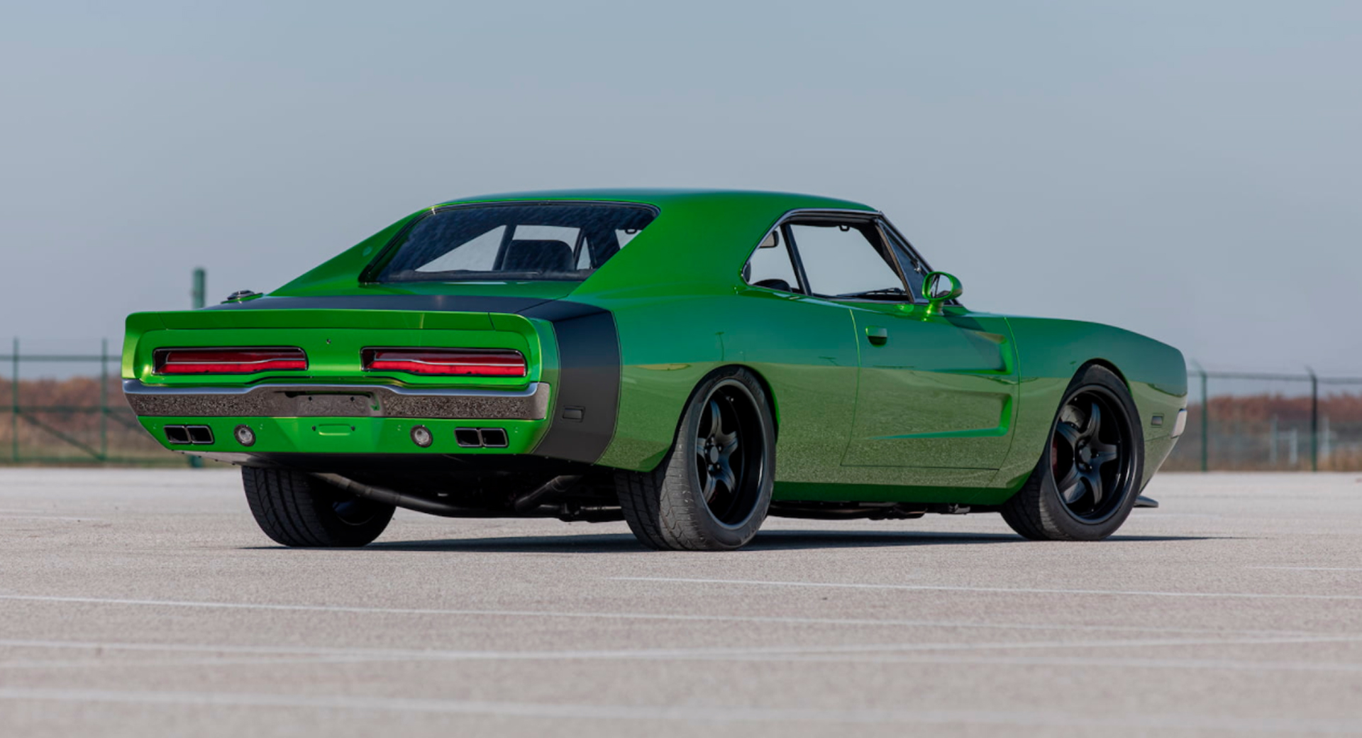 1969 dodge charger body was grafted