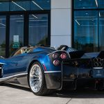 2018 Pagani Huayra Roadster Clad In Blue Carbon Is Just About Perfect Carscoops Portal4cars