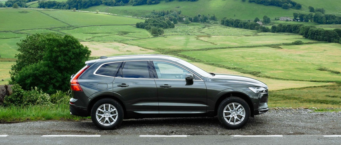 Volvo XC60 Reviewed in the Peak District