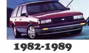 Chevrolet Celebrity 1982 83 84 85 86 87 88 1989 Workshop Service Repair Manual