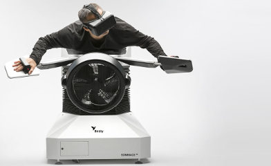 Birdly: Wie ein Vogel fliegen – dank Virtual-Reality Device