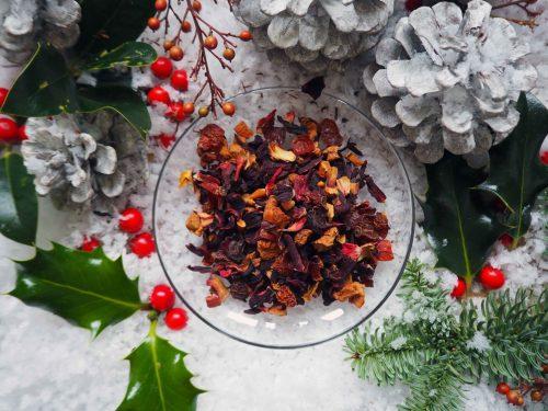 Christmas mulled tea
