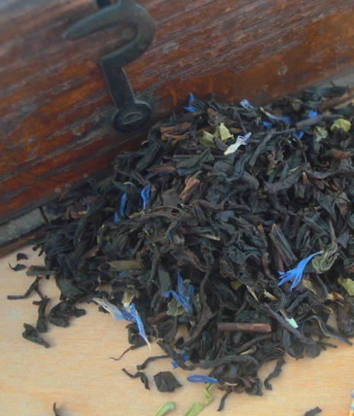 Earl Grey cornflower tea