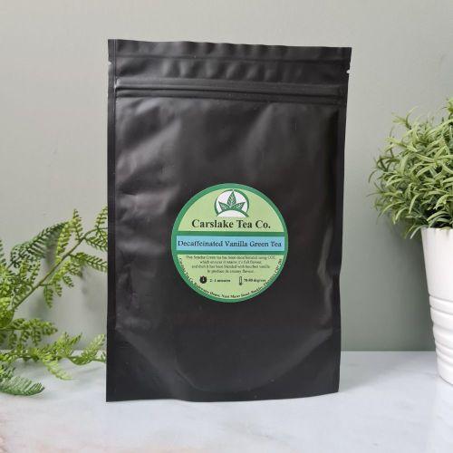 Decaffeinated Vanilla Green Tea - Carslake Tea Company