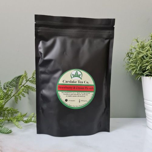 Strawberry and Cream Pu-Erh - Carslake Tea Company