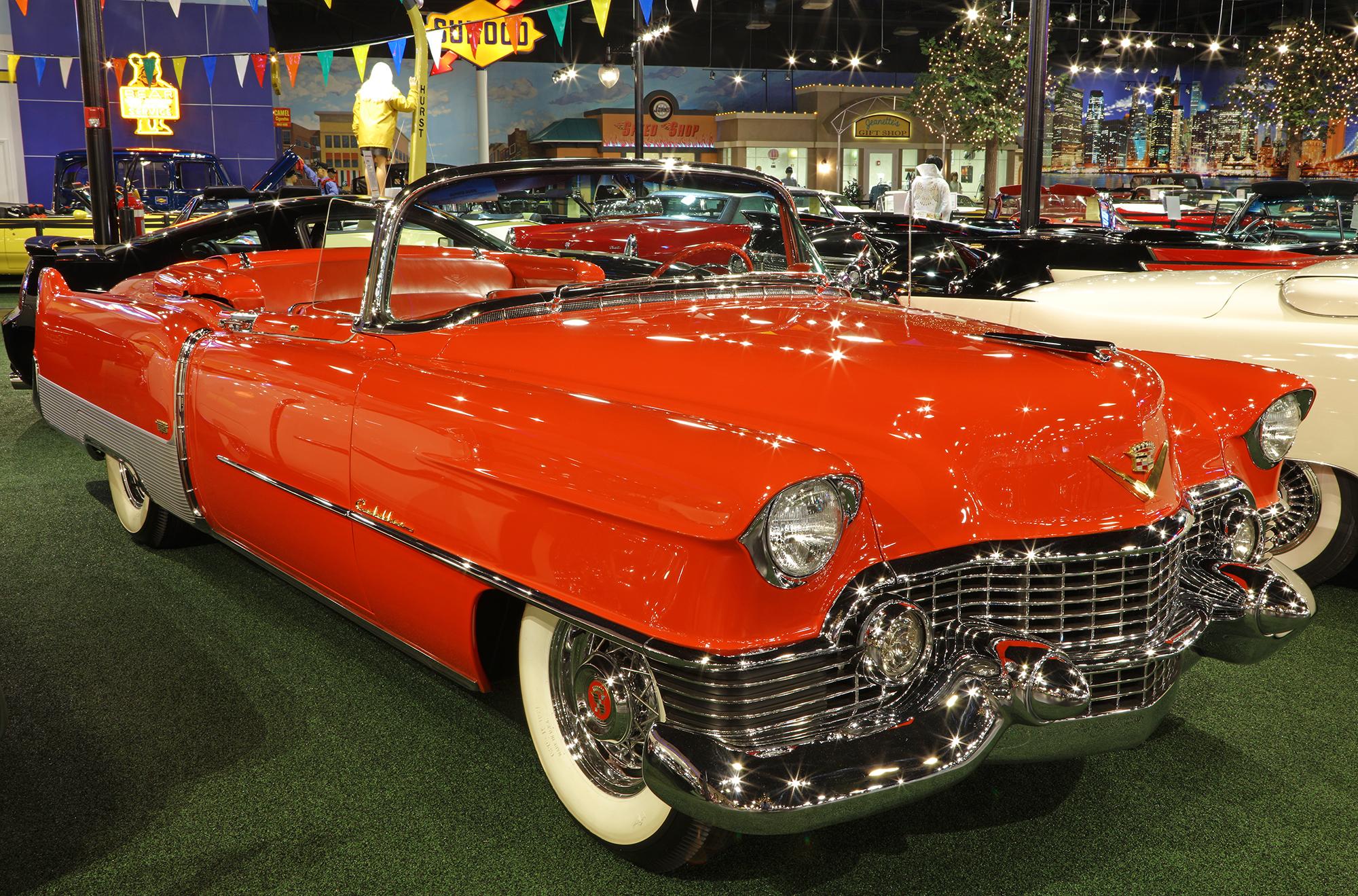 1954 Cadillac Eldorado Convertible Welcome To Cars Of Dreams Museum 1951 Fleetwood 60 Special