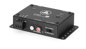 JL Audio LoC22 - 2Kanal High-Low Adapter, Autosense DC + Signal, in 40VRms out 8VRms