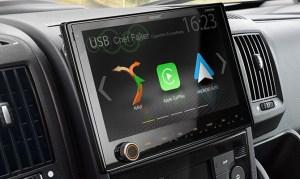 """ZENEC Z-E3766 9"""" Naviceiver für FIAT Ducato mit Apple Carplay, Android Auto, DAB+ Doppeltuner"""