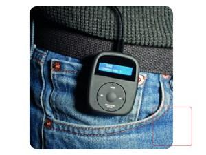 Caliber HPG031DAB - Portable DAB+/FM Radioreceiver