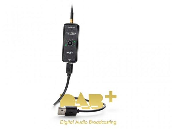 Caliber RDAB30 DAB+ Empfänger für USB Radioeingang