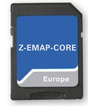 ZENEC Z-EMAP-CORE - Nav-Paket 16GB microSD mit 47 EU Länder für Z-E1010