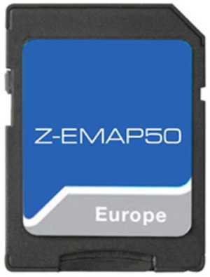 Zenec Z-EMAP50 - Z-Exx50 16 GB microSD Karte mit EU-Karte 47 Länder