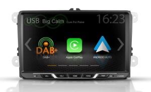 "Zenec Z-E2055 E>GO Autoradio Volkswagen 9"" Display mit Apple CarPlay, Android Auto"