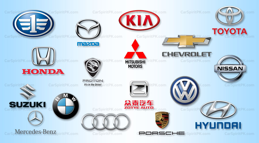 Car Logos And What They Represent Carspiritpk