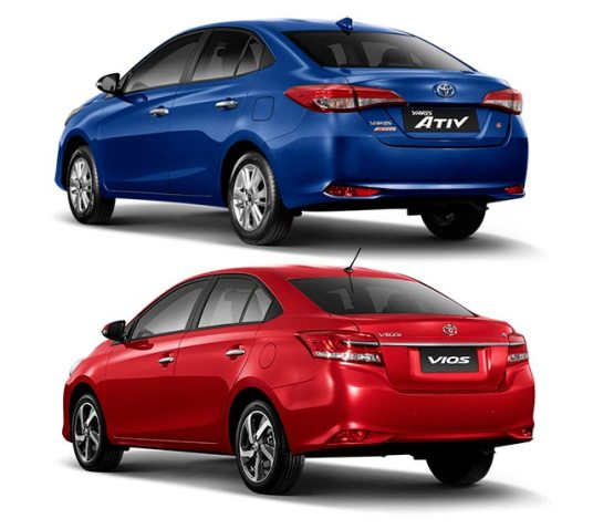vios or yaris ativ   which one should replace xli and gli in pakistan