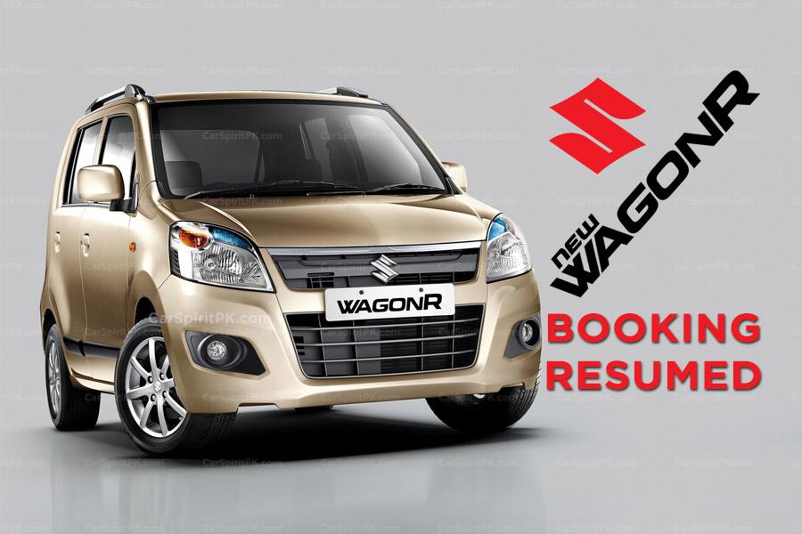 Pak Suzuki Resumes WagonR Bookings