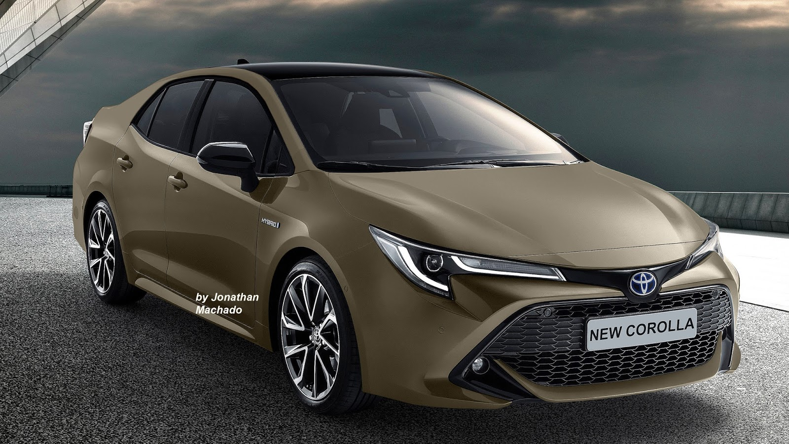 renderings next generation toyota corolla imagined carspiritpk. Black Bedroom Furniture Sets. Home Design Ideas