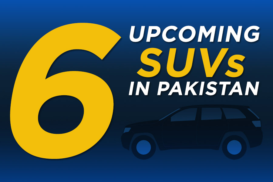 6 Upcoming SUVs in Pakistan