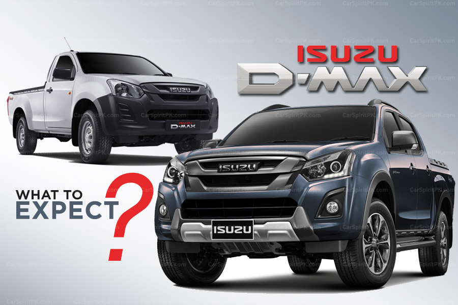 Isuzu D-MAX in Pakistan- What to Expect?