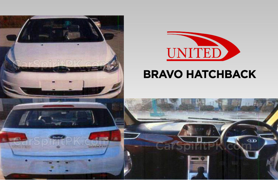 United to Launch the Bravo Hatchback After Eid 6