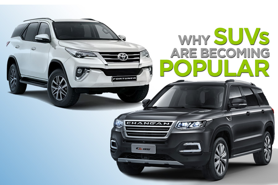 Why SUVs Are Becoming Increasingly Popular