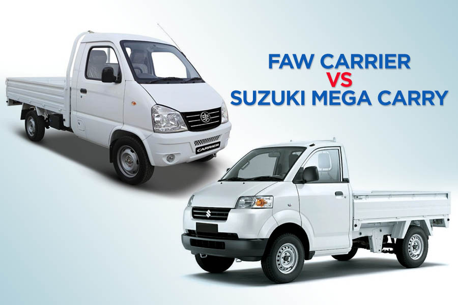 FAW Carrier vs Suzuki Mega Carry