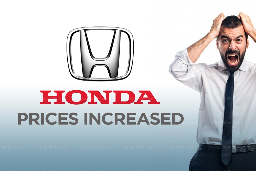 Honda Atlas Increases Car Prices Effective from 22nd October 2018